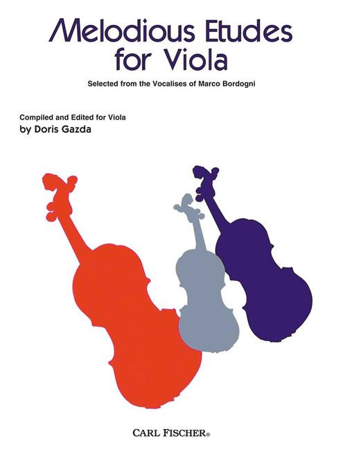 Bordogni, Melodious Etudes For Viola [CF:BF27]