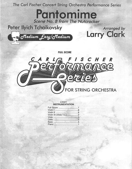 Tchaikovsky, Pantomime [CF:CAS21F]