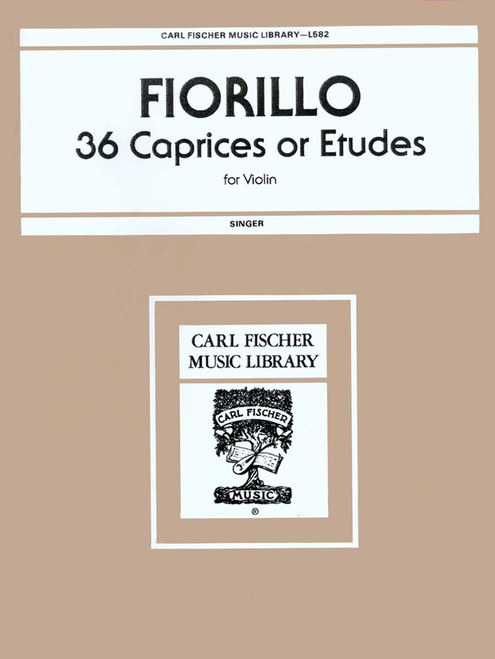Fiorillo, 36 Caprices Or Etudes [CF:L582]
