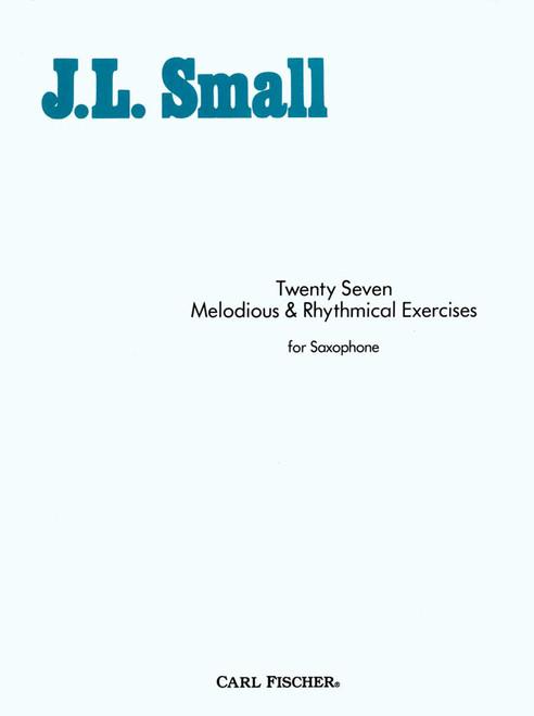 Twenty Seven Melodious And Rhythmical Exercises [CF:O1835]
