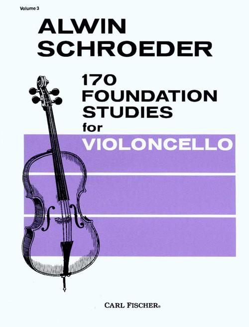 170 Foundation Studies For Violincello [CF:O2471]