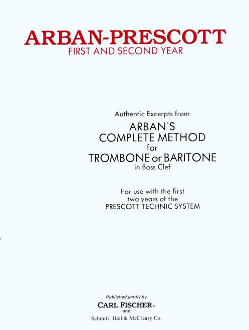 Arban, Arban-Prescott: First And Second Year [CF:O2574]