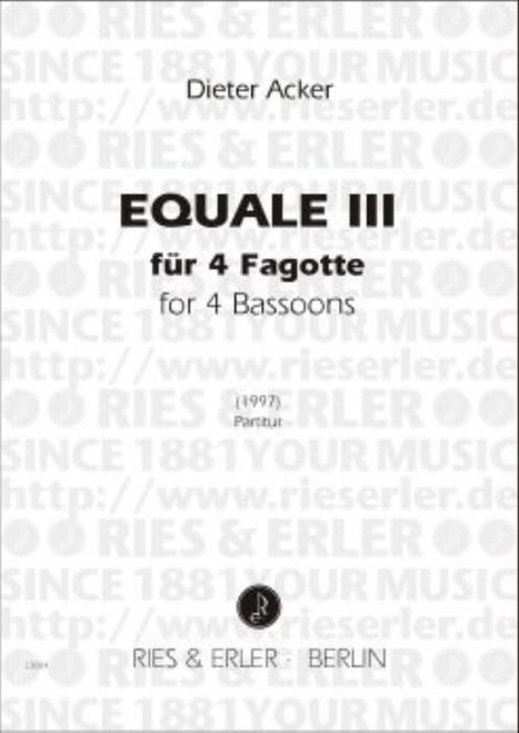 Acker, Equal Iii [CF:RE23004]