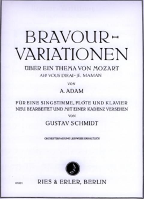 Adam, Bravour-Variationen Über Ein Thema Von Mozart [CF:RE61001]