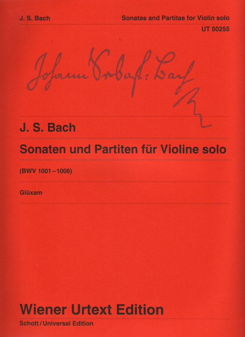 Bach, J.S. - Sonatas And Partitas [CF:UT050255]