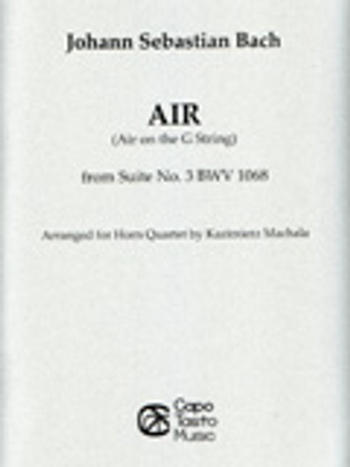 Bach, J S , Air On The G-String [CF:YAS84P] - Performers Music