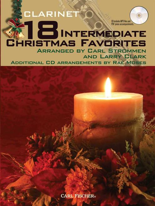18 Intermediate Christmas Favorites - Clarinet [CF:WF100]