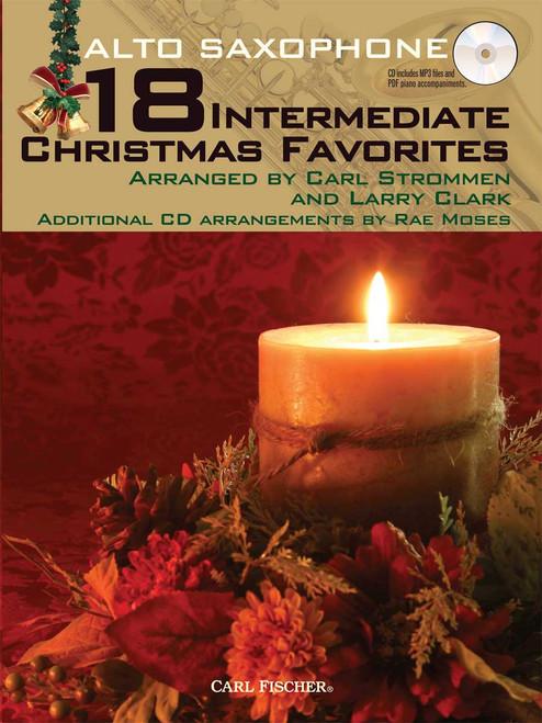 18 Intermediate Christmas Favorites - Alto Saxophone [CF:WF101]