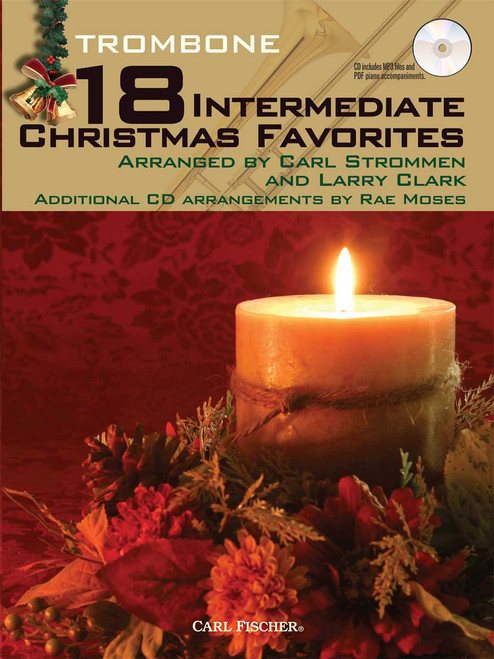 18 Intermediate Christmas Favorites - Trombone [CF:WF103]