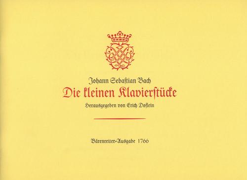 Bach, J.S. - Little Piano Pieces [Bar:BA1766]