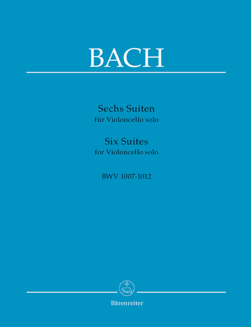 Bach, J.S. - Six Suites for Cello Solo [Bar:BA320]