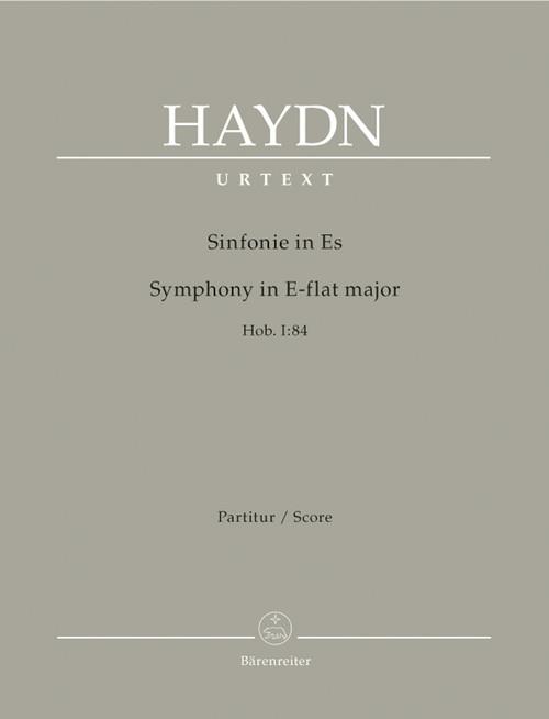 Haydn, Symphony E flat major Hob. I:84 [Bar:BA4688]