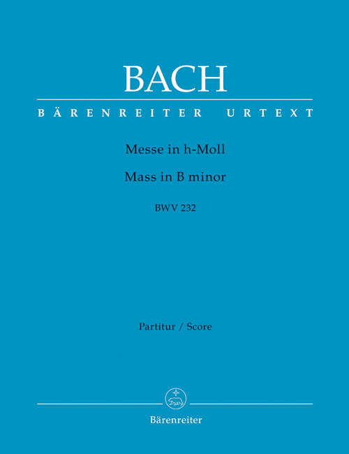 Bach, J.S. - Mass in B Minor / Full Score [Bar:BA5935]