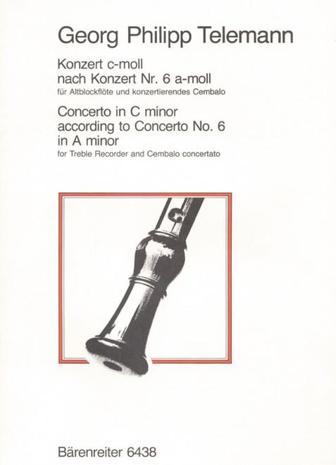 Telemann, Concerto in C minor [Bar:BA6438]