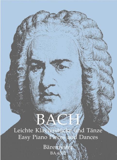 Bach, J.S. - Easy Piano Pieces and Dances [Bar:BA6572]