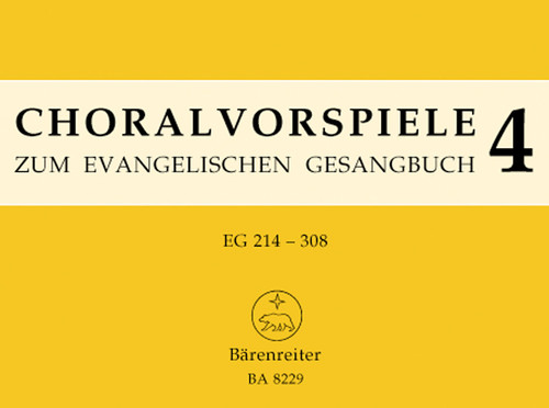 106 Vorspiele aus alter und neuer Zeit zu 36 Melodien EG 214 - 308. [Bar:BA8229]