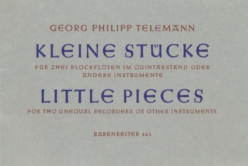 Telemann, 11 kleine Stücke [Bar:BA865]