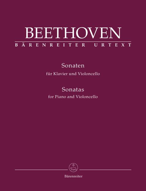 Beethoven, Sonatas for Piano and Violoncello [Bar:BA9012]