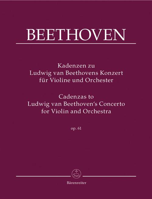 Beethoven, Kadenzen zu Ludwig van Beethovens Konzert [Bar:BA9020]