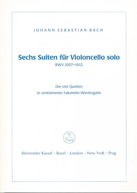 Bach, J.S. - Sechs Suiten für Violoncello solo [Bar:BVK1044]