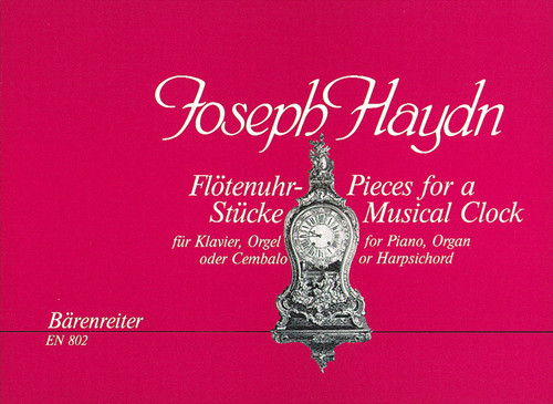 Haydn - Flotenuhrstucke : Pieces for a Musical Clock for Piano, Organ, or Harpsichord [Bar:EN802]