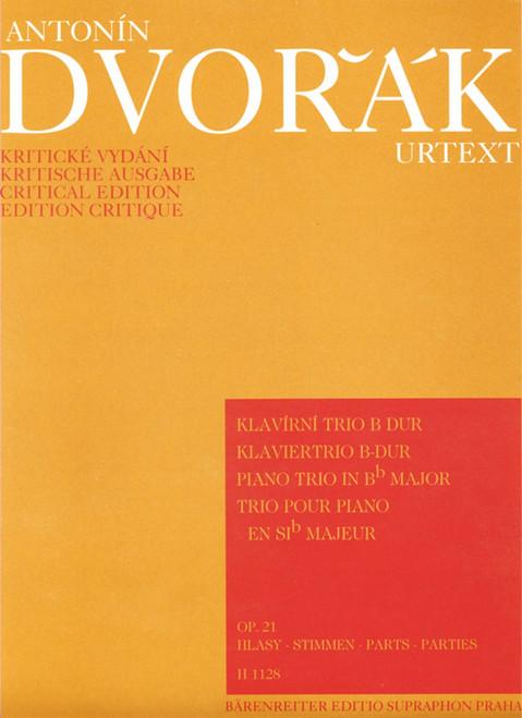 Dvorak, Piano Trio in B flat Major, Op.21  [Bar:H1128]
