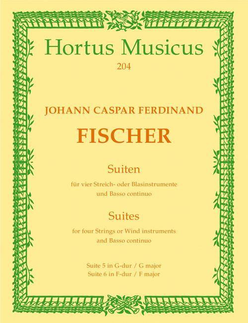 Fischer, Zwei Suiten [Bar:HM204]