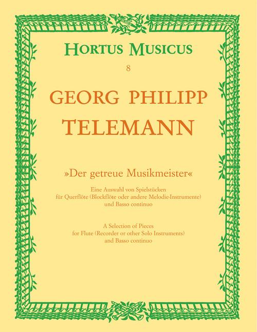 """Telemann, """"Der getreue Musikmeister"""" [Bar:HM8]"""