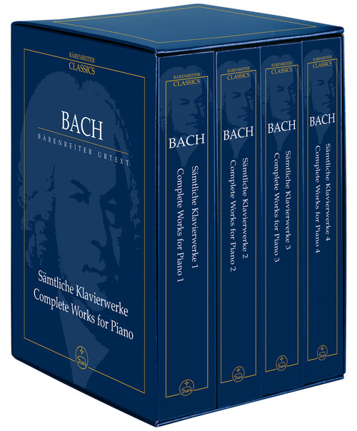 Bach, J.S. - Complete Piano Solo Works [Bar:TP2002]