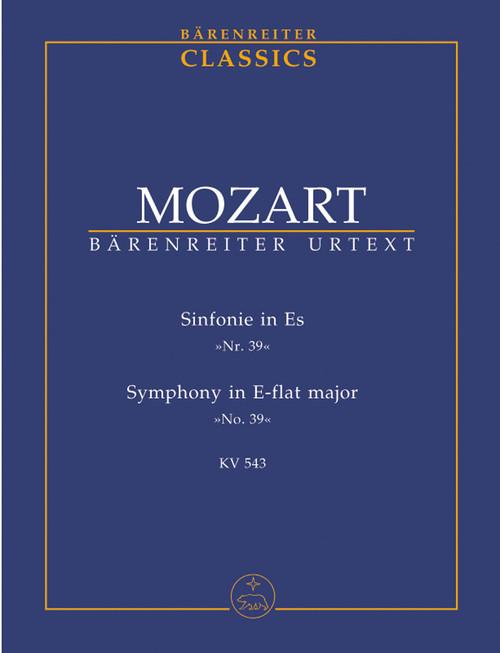 Mozart, Sinfonie No. 39 E flat major KV 543 [Bar:TP39]