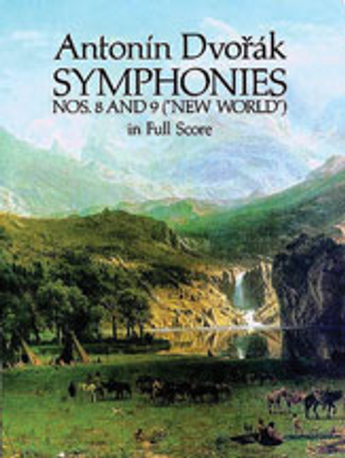 "Dvorák, Symphonies 8 and 9 (""New World"") [Dov:06-24749X]"