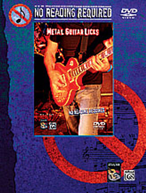 No Reading Required: Metal Guitar Licks [Alf:00-23224]