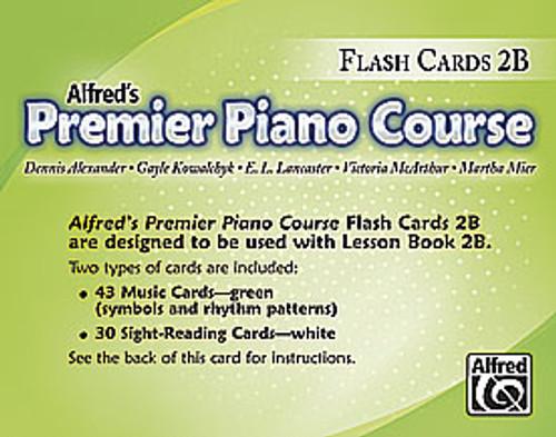 Premier Piano Course: Flash Cards, Level 2B [Alf:00-25727]