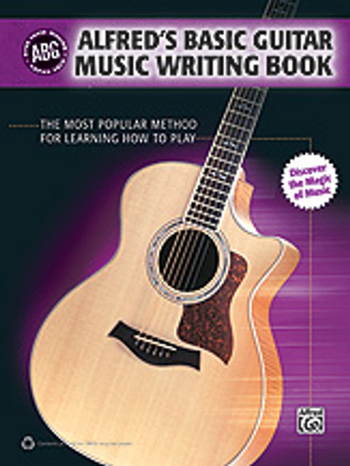Alfred's Basic Guitar Music Writing Book [Alf:00-35042]