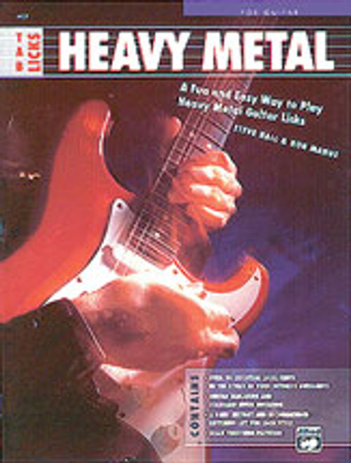 TAB Licks: Heavy Metal [Alf:00-4401]