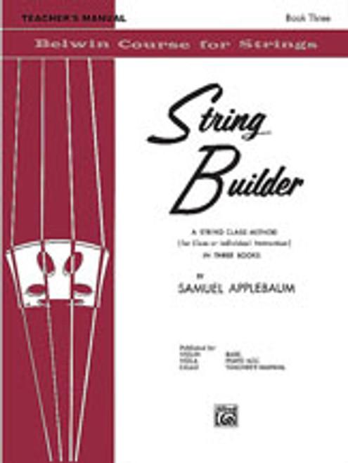 Applebaum, String Builder, Book III [Alf:00-EL01559]
