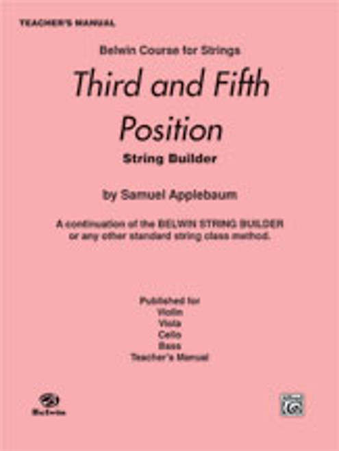 Applebaum, 3rd and 5th Position String Builder [Alf:00-EL01940]