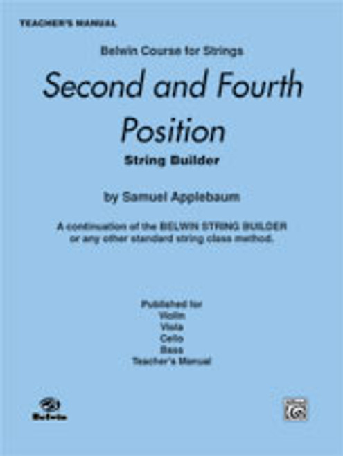 Applebaum, 2nd and 4th Position String Builder [Alf:00-EL01946]
