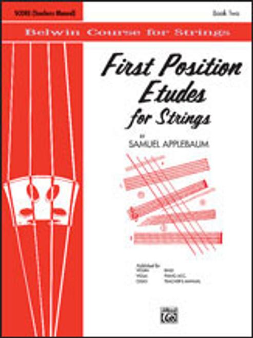 Applebaum, First Position Etudes for Strings [Alf:00-EL02027]