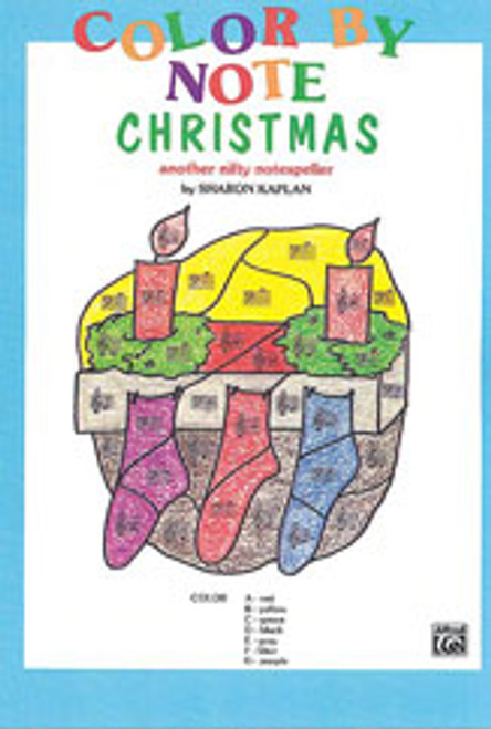 Color by Note Christmas [Alf:00-EL03783]