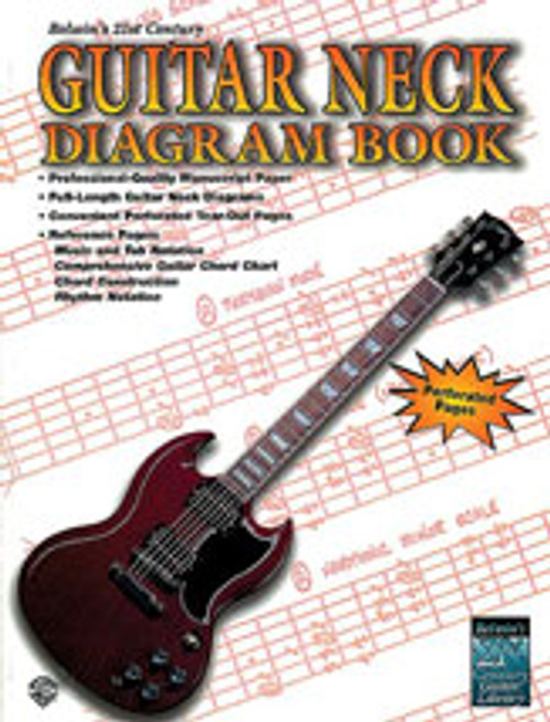 21st Century Guitar Neck Diagram Book [Alf:00-EL9925]