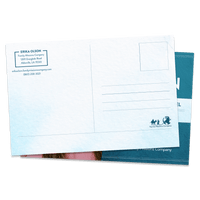 Family Missions Company Postcard Mailer Template Back