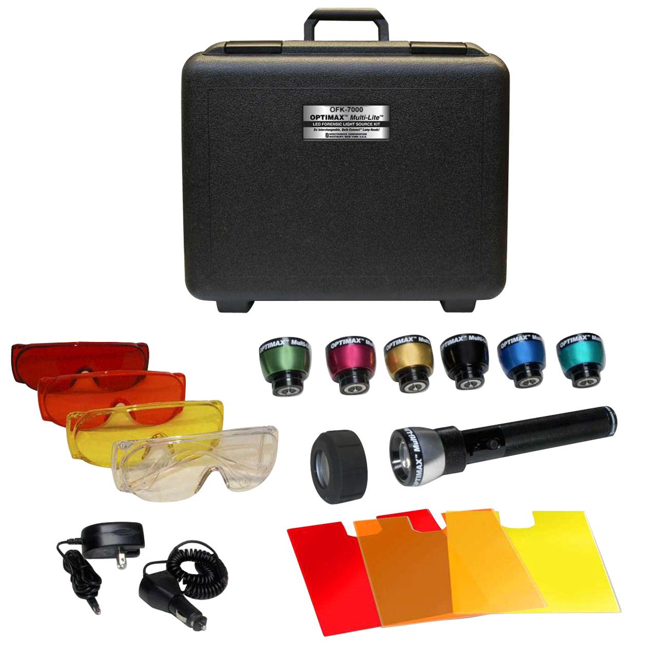 Ofk 8000 Optimax Multi Lite Forensic Lamp Kit