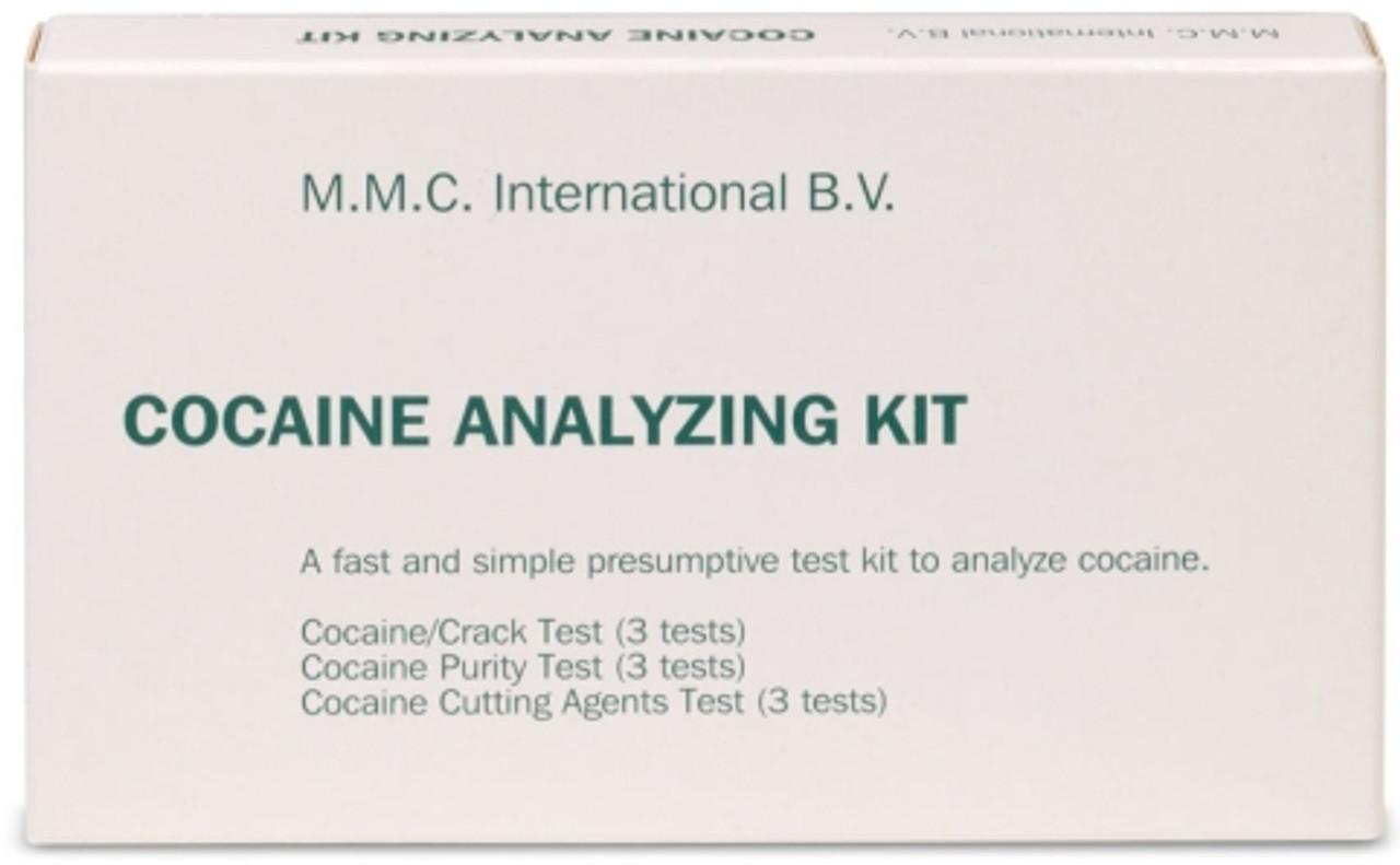 MMC Cocaine Analyzing Kit - 1 Box (9 tests/box)