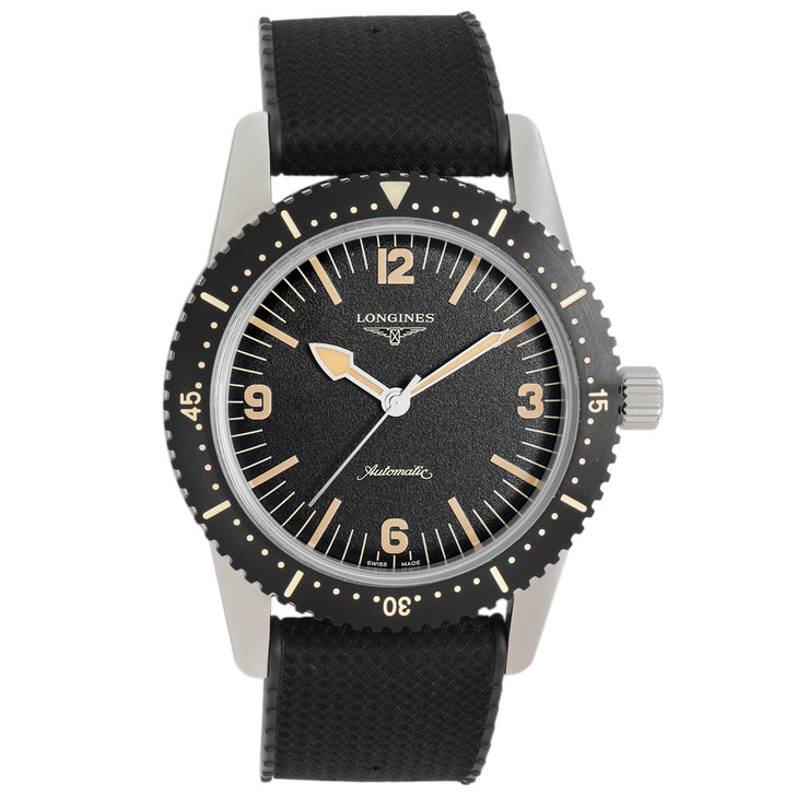 Longines Stainless Steel Heritage Skin Diver L2.822.4.56.9