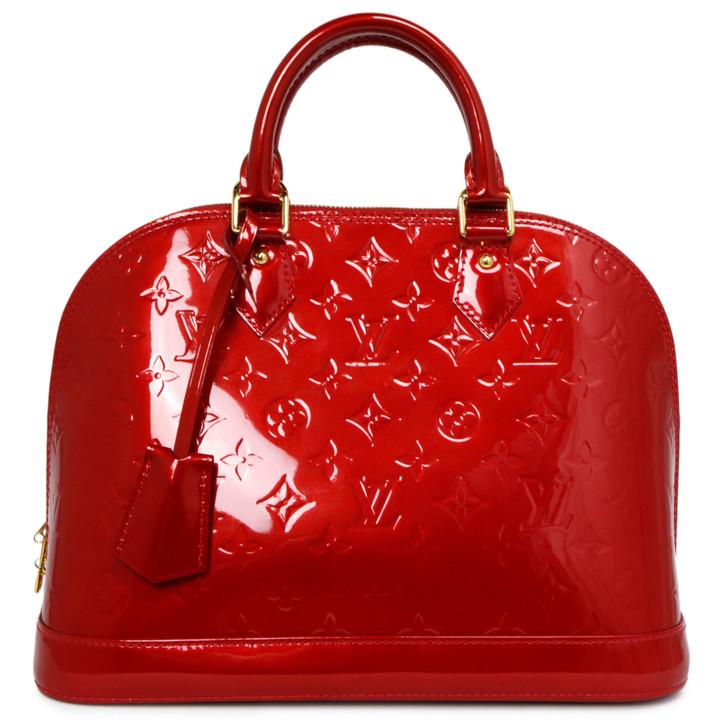 Louis Vuitton Pomme D'Amour Vernis Alma PM