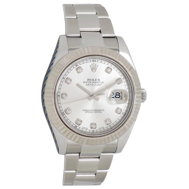 Rolex Stainless Steel Datejust  II 116334