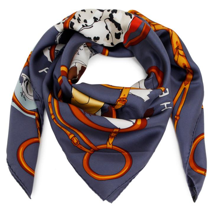 Hermes Silk Les Parisiens Scarf 90