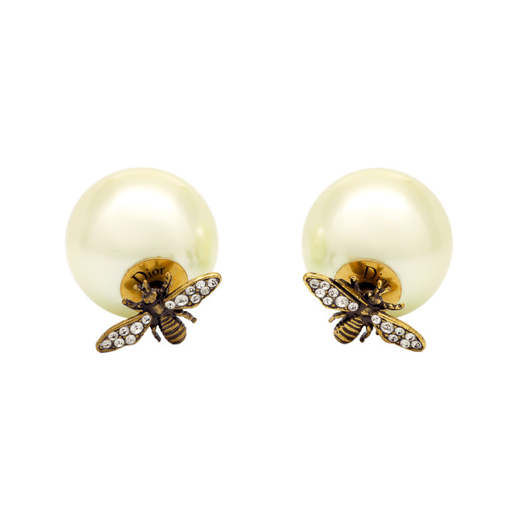 Christian Dior Mise En Dior Tribal Bee Earrings