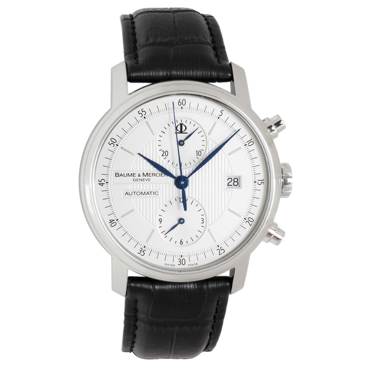 Baume & Mercier Stainless Steel Classima Chronograph 65560